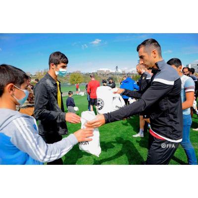 Сборная Армении по футболу в эти тревожные для страны дни готовится к матчам группового турнира Лиги наций против сборных Грузии (11 октября) и Эстонии (14 октября)