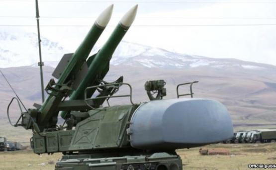 На российской военной базе в Гюмри состоялся показ современной военной техники