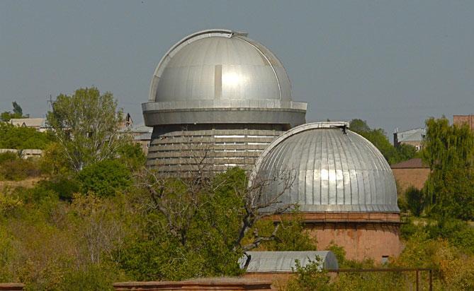 Четвертый научный лагерь для школьников пройдет в Бюраканской обсерватории