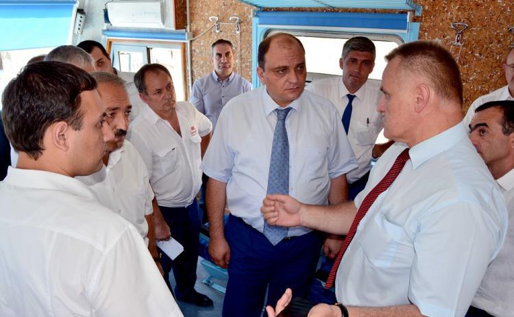 Представители руководства ЗАО «ЮКЖД», Минтранса Армении и мэрии Еревана ознакомились с состоянием прилегающих к железной дороге территорий в черте города