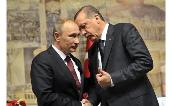 СМИ назвали предполагаемую тему встречи Путина и Эрдогана