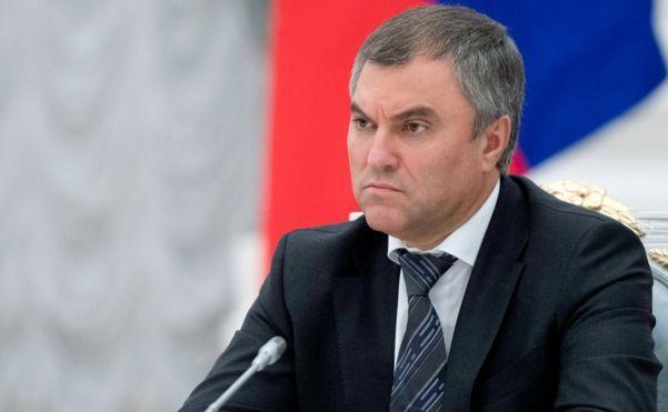 Глава Госдумы РФ выразил надежду на победу здоровых сил в ходе выборов в Армении