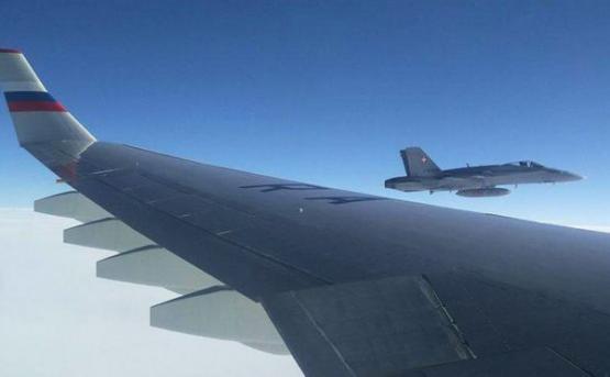 Азербайджан не пропустил летевший в Сирию через Армению российский Ил-76