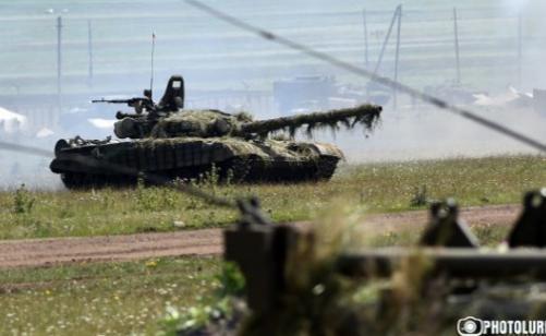 Артиллеристы росийской базы в Армении приняли участие в 20 тактических учениях