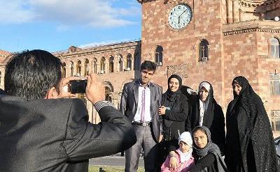 Растет 1-дневный туризм из Ирана в Армению