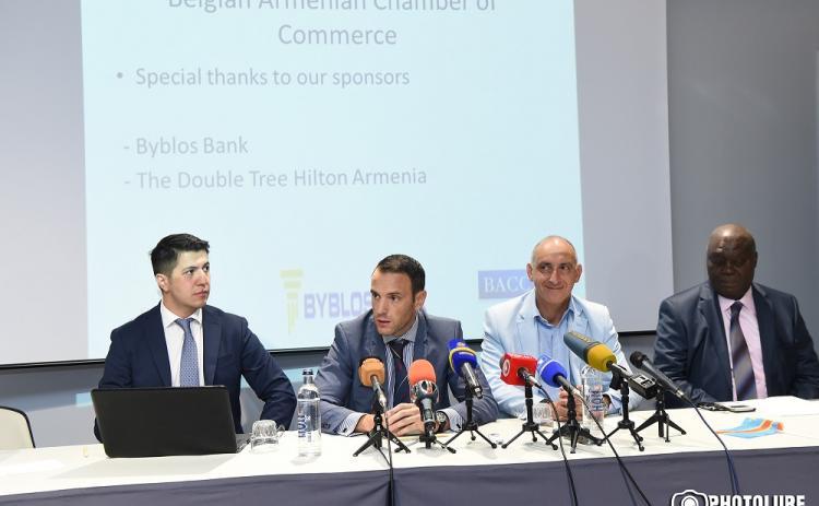 АЛМАЗЫ И ШОКОЛАД: Армению посетили бельгийские и конголезские предприниматели