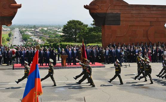 В Москве учреждена комиссия по координации мероприятий, посвященных 100-летию Республики Армения и героических майских сражений