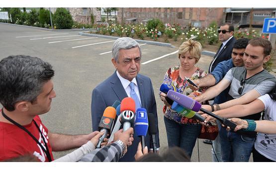 Президент Армении: У премьера Карена Карапетяна нет каких бы то ни было причин для отставки