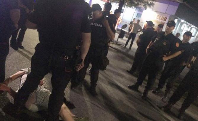 Армянские футбольные фанаты подверглись нападению в Черногории