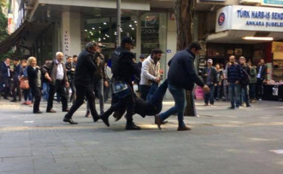 В Анкаре проходят массовые акции протеста против властей страны