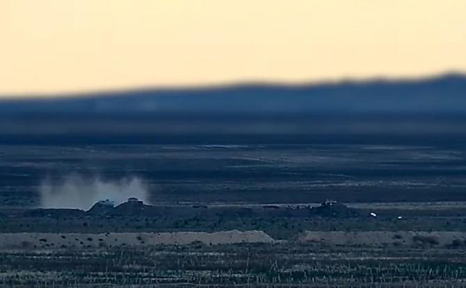 Армия обороны нанесла сокрушительный удар по азербайджанским позициям (ВИДЕО)
