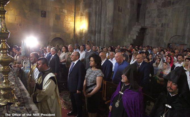 В Арцахе отметили 777-летие церкви Гандзасара