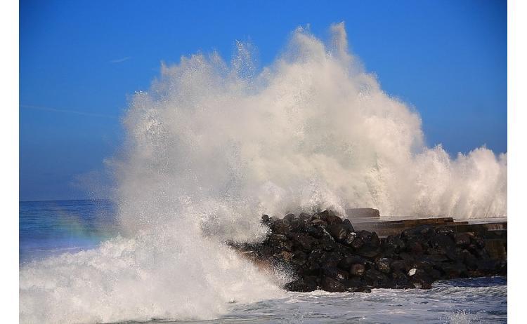 Ураган обрушился на черноморское побережье Грузии