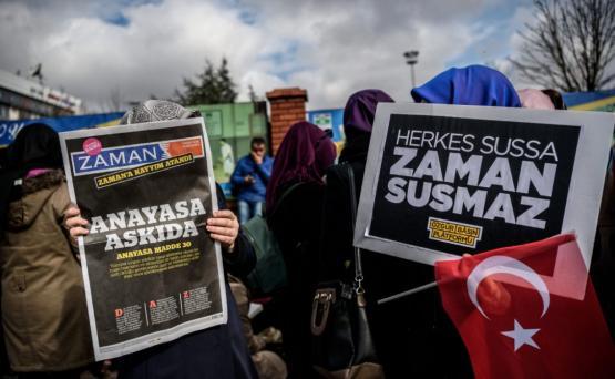 В Турции судят сотрудников газеты Zaman