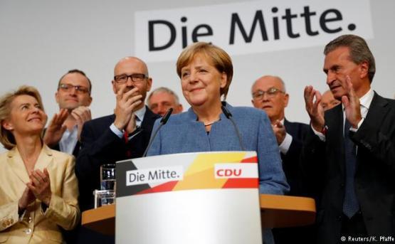Выборы в Германии: Лидирует партия Меркель