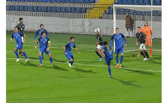 Футболисты молодежки Азербайджана поставили на свое крупное поражение