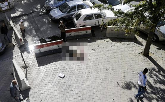 Боевики обстреляли из минометов центр Дамаска: есть погибший и раненые