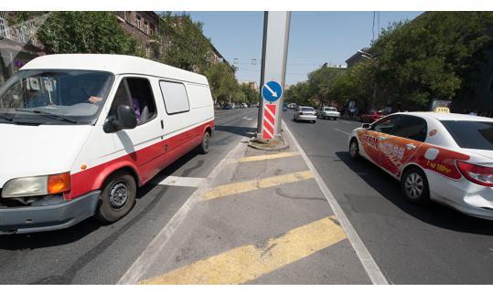 Движение на одной из главных развязок в Ереване будет реорганизовано