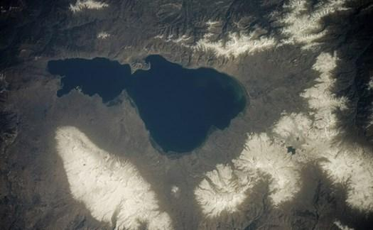 Российский космонавт опубликовал уникальный снимок Севана из космоса