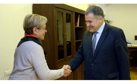 Глава Минюста Давид Арутюнян высоко оценил уровень сотрудничества Армении и БДИПЧ/ОБСЕ
