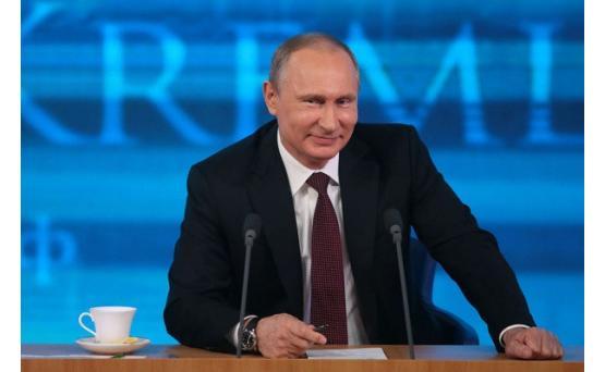 В Москве проходит большая пресс-конференция Владимира Путина