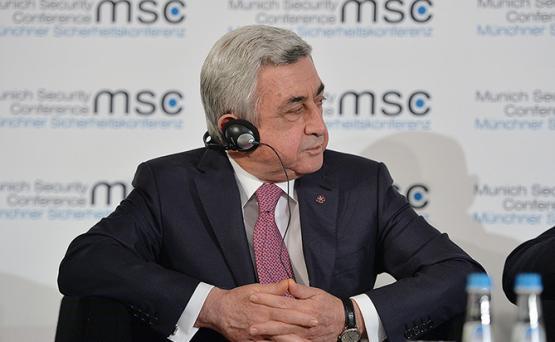 Серж Саргсян: Баку должен отказаться от нереалистичных ожиданий