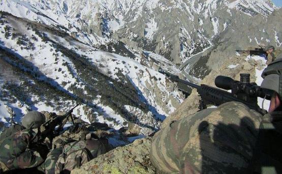 В столкновениях с курдами убито 5 турецких военнослужащих