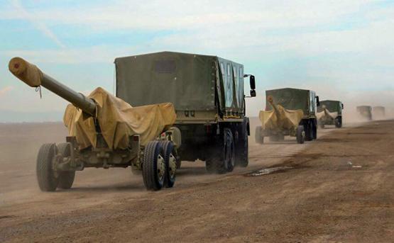 В азербайджанских ВС прошли учения ракетных и артиллерийских войск